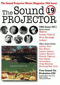 The Sound Projector 2011 issue