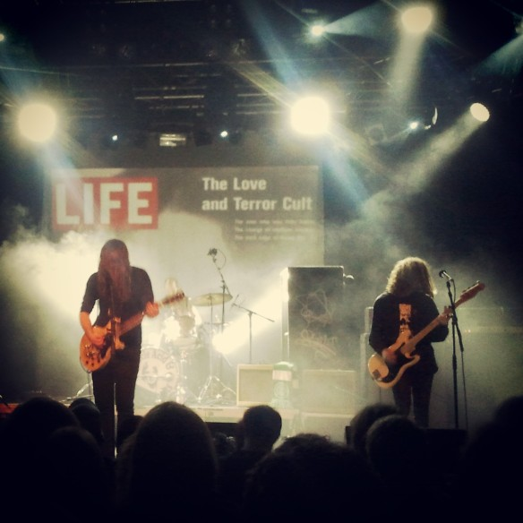 Uncle Acid & The Deadbeats live in Vienna, December 2013