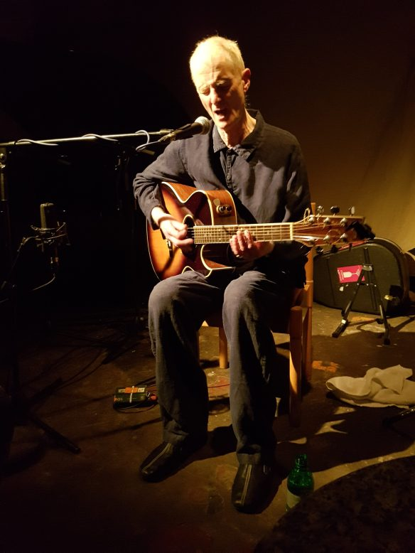 Peter Hammill live in London, March 2017