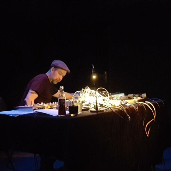 Mika Vainio live in Geneva, February 2017