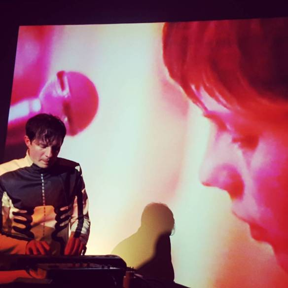 Felix Kubin live at Geneva Cave 12, May 2017